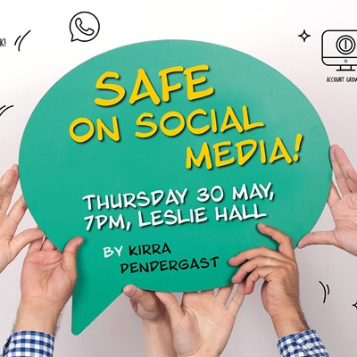 Safe on Social Media evening for parents