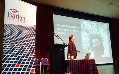 Neuroscience and Music Education Forum - Fascinating! Dr Anita Collins.