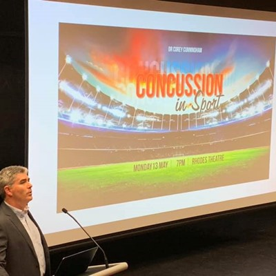 Twilight Lecture - Concussion in Sport : Dr Corey Cunningham